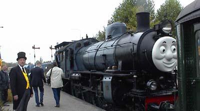 thomas the tank engine - thomas event in simpelveld
